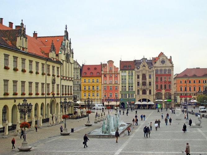 Breslávia, Polônia
