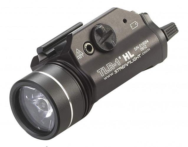 Streamlight 69260 TLR-1 HL Weapon Mount Tactical Flashlight Light 800 Lumens