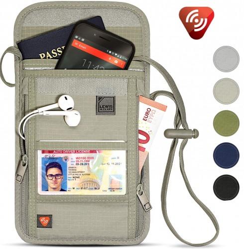 Stash Neck Wallet + Passport Holder