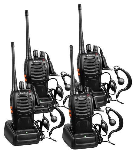 Arcshell Rechargeable Long Range Two-Way Radio