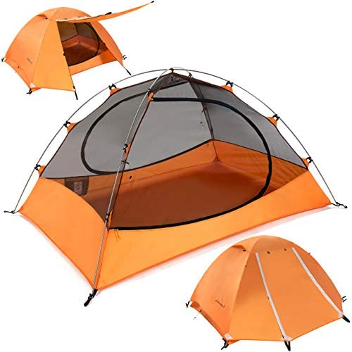 Clostnature Lightweight 2 and 3 Person Backpacking Tent