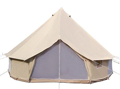 Danchel 4-Season Cotton Bell Yurt Tent