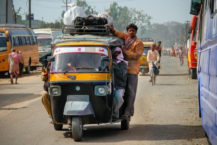 Tuk-tuk in India