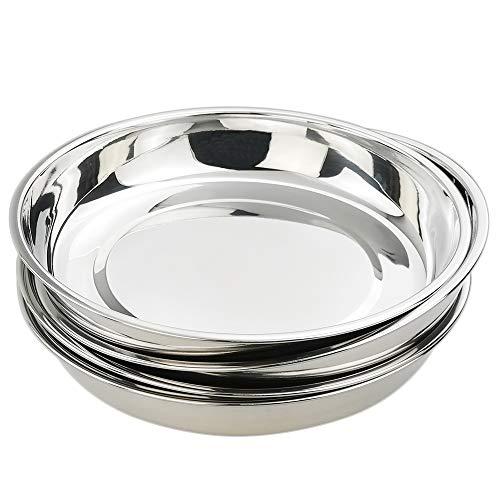 Kekow Stainless Steel Dinner Plate