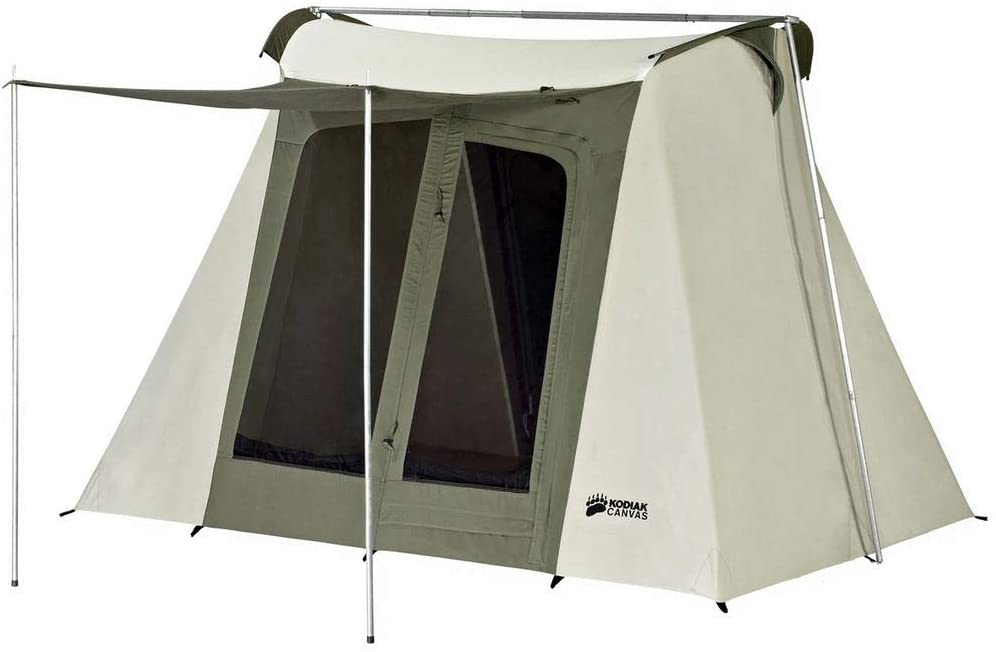 Kodiak Flex-Bow 6-Person Canvas Tent Deluxe