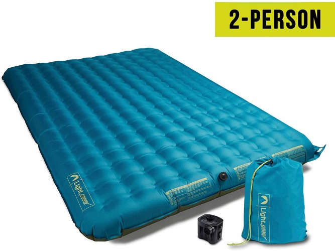 Lightspeed Outdoors 2 Person PVC-Free Air Bed