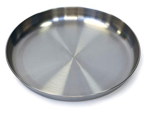 Stansport Stainless Steel Camping Plates