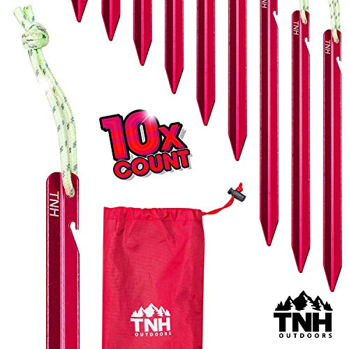 TNH Outdoors Tri-Beam Tent Stakes