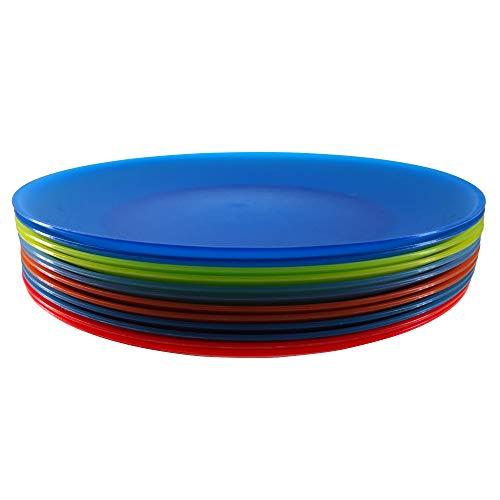 YUYUHUA Plastic Dinner Plates