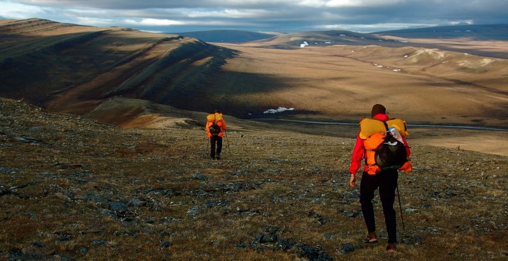 Alaska hikers
