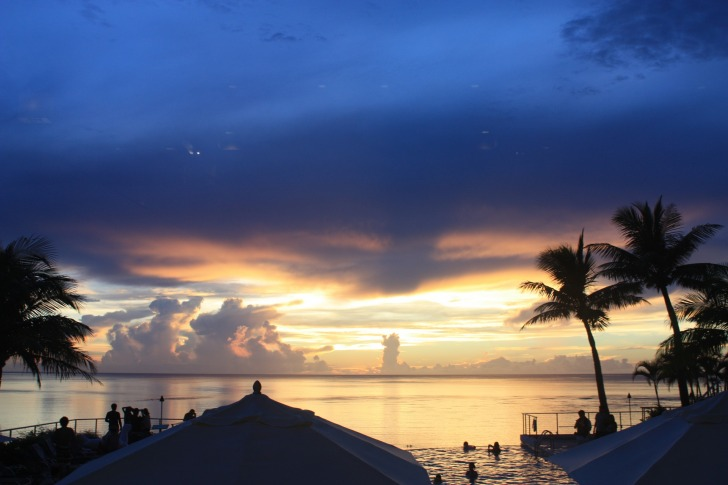 Sunset on the island of Guam/ Image by bangaichi from Pixabay