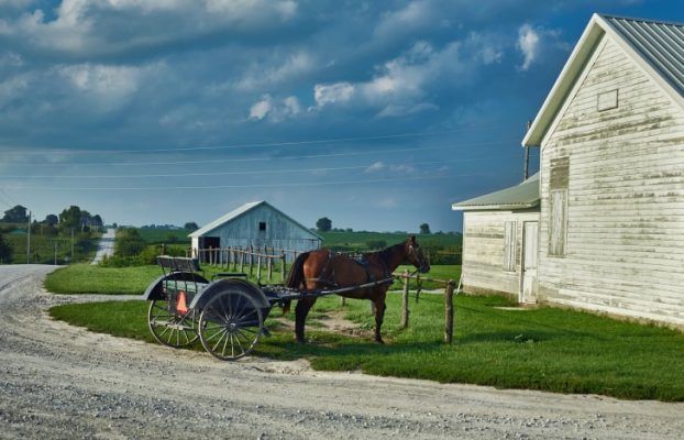 Traveling, USA, Amish, Home
