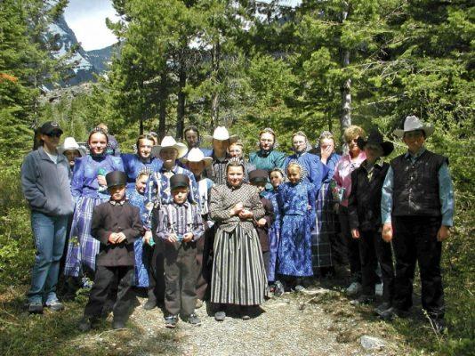 Traveling, USA, Amish, Family