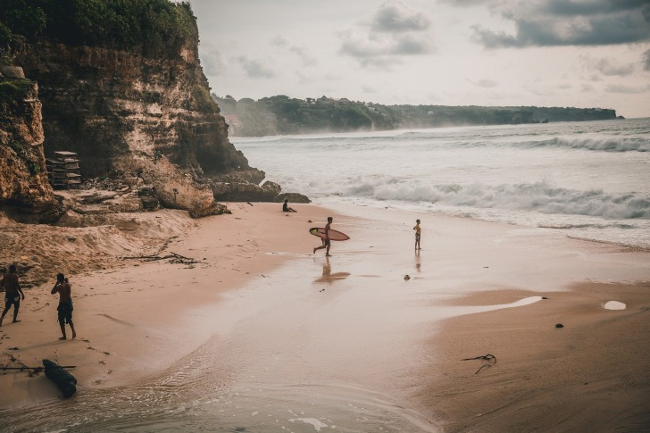 Bali is a popular surf and yoga destination/ Image by Anna Palinska from Pixabay