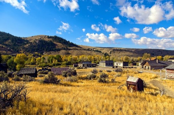 Traveling, Camping, Montana, Bannack State Park
