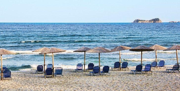 Greece, Mykonos, Paraga Beach