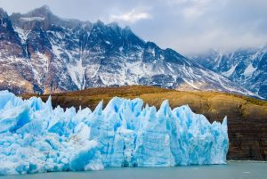 Chile ice and mountains