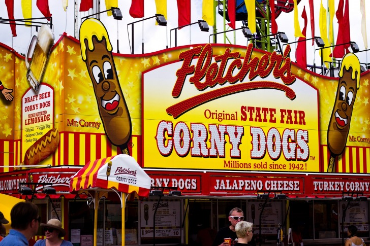 Corny Dogs Food Fair Texas/ Image by Alberto Adán from Pixabay