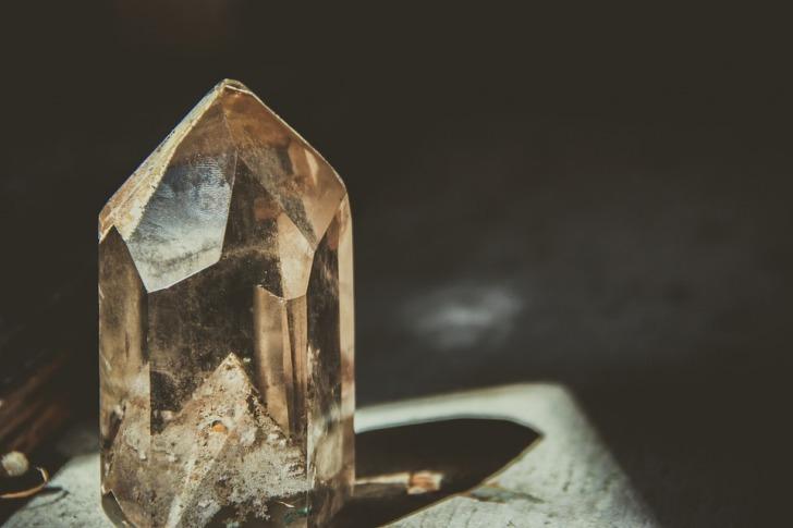 Huge crystal