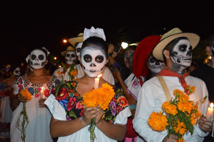 Day of dead Mexico