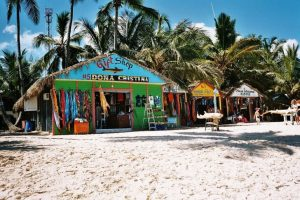 Dominican Republic beach shops