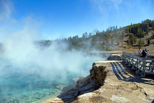 Traveling, California, Sierra Hot Springs