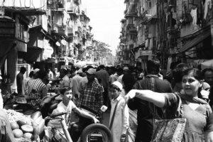 Mumbai crowded street