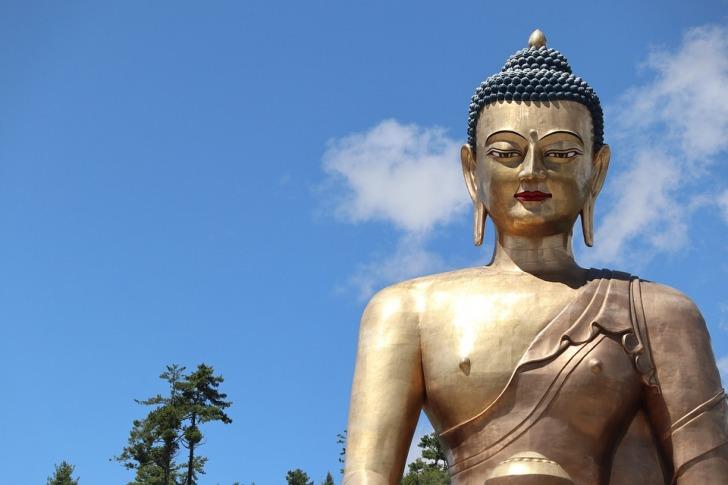 Buddha statue Bhutan