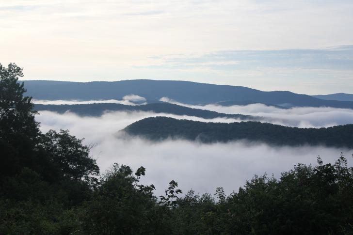 Appalachian fog