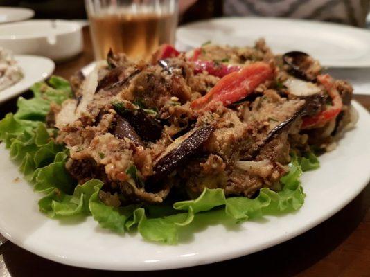 Traveling, Georgia, Restaurant Diaroni