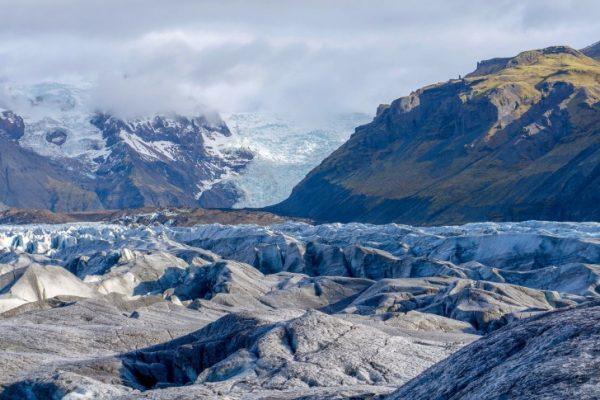 Traveling, Iceland, Hiking, Glacier