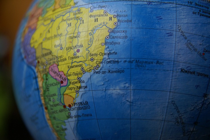 South America, Counties, Traveling