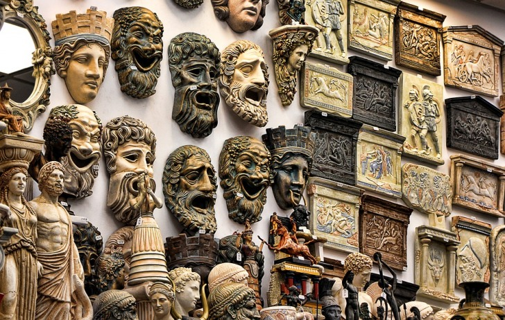 Ancient Greek masks
