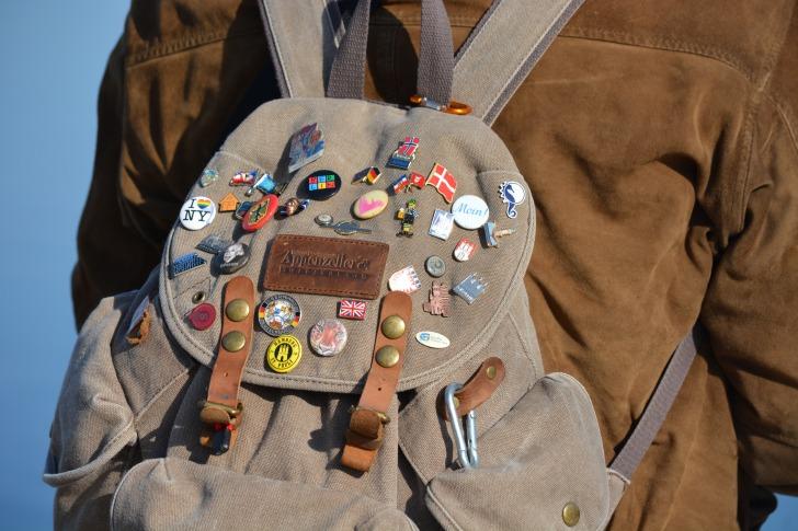 Backpack badges
