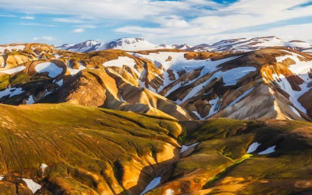 Traveling, Iceland, Hiking, Blue Peak