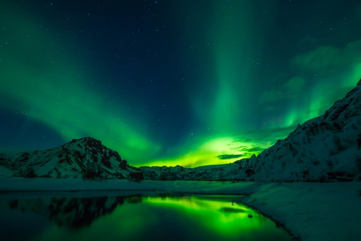 Iceland is widely known for its breathtaking nature/ Image by David Mark from Pixabay