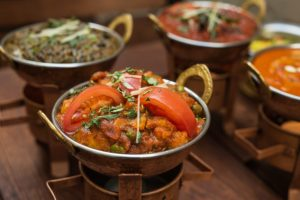 Indian Food Kitchen Meal/ Image by ArtificialOG from Pixabay
