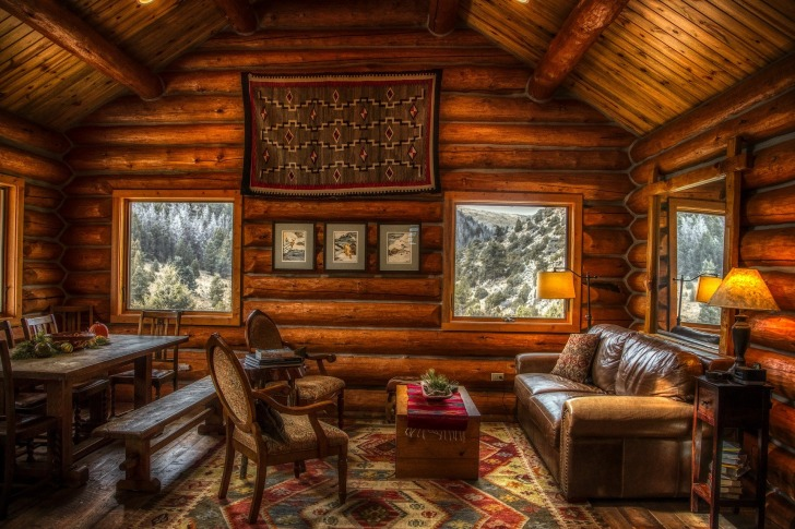 Most of the Texas cabins are away from the hustle and bustle/ Image by 1778011 from Pixabay