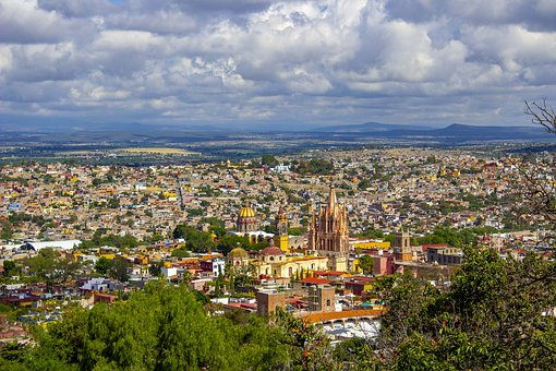 Traveling, Mexico, Tampico, Plaza de la Libertad