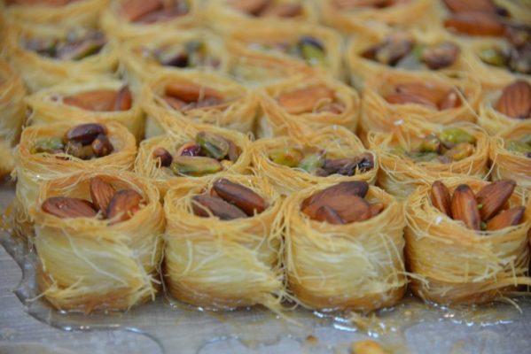 Traveling, Greece, Food, Kataifi