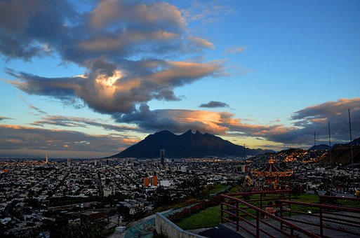 Traveling, Mexico, Tampico, Plaza de Armas