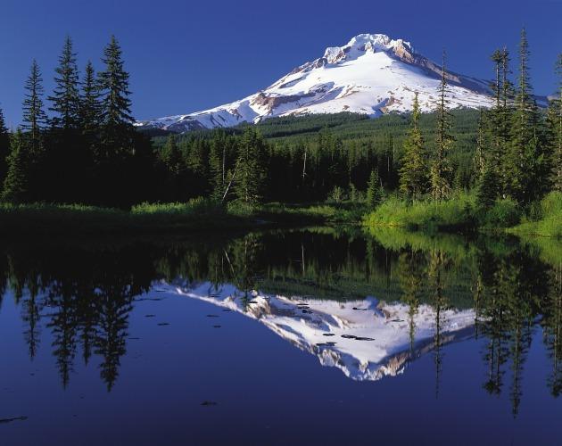 Traveling, Oregon. Hiking