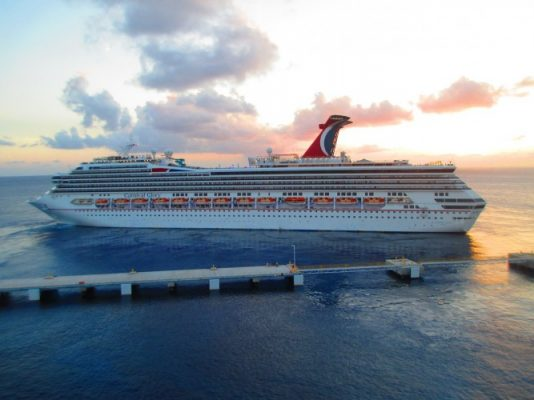 Travelling, by Ship, Carnival Cruise Lines