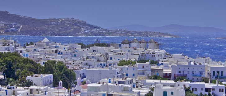 Traveling, Greece, Mykonos, Beaches