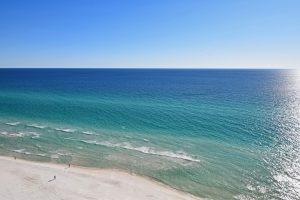 Azure sea