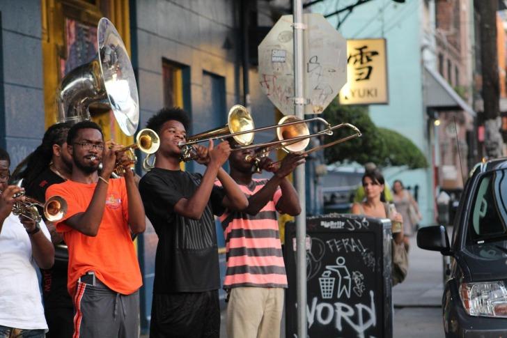 Enjoy jazz music on every corner/ Image by SaiPraneeth Kalakuntla from Pixabay