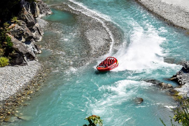 New Zealand rafting