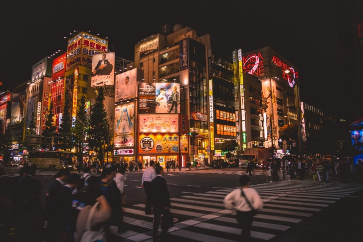 Tokyo/ Image by ANTHR_Photoblog from Pixabay