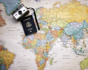 Passport Map World/ Image by Pam Patterson from Pixabay