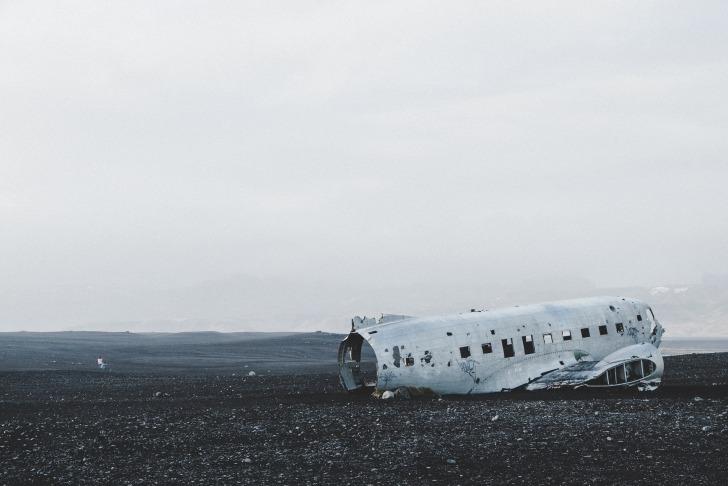 The plane wreck at Solheimasandur/ Image by Stefan Meller from Pixabay